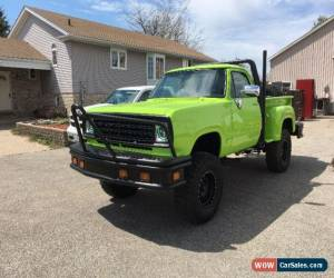 1978 Dodge Power Wagon For Sale In Canada