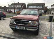 1999 FORD EXPLORER 4.0 V6 AUTO RED for Sale