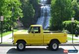 Classic 1979 Ford F-150 Custom for Sale
