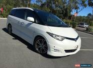 2006 Toyota Estima GSR50 Aeras White Automatic 5sp A Wagon for Sale