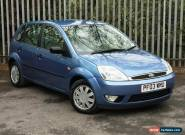2003 (03) Ford Fiesta 1.4 Ghia 5 Door for Sale