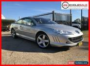 2008 Peugeot 407 Coupe 2dr Spts Auto 6sp 3.0i Silver Automatic A Coupe for Sale
