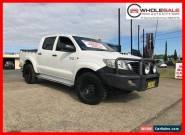 2012 Toyota Hilux KUN26R MY12 SR Utility Double Cab 4dr Auto 4sp, 4x4 840kg 3. for Sale