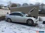 BMW e46 318ci spares or repair for Sale