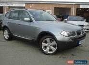 2005 05 BMW X3 2.0 D SPORT 5D 148 BHP DIESEL for Sale