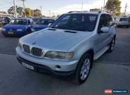 2001 BMW X5 E53 4.4I Silver Automatic 5sp A Wagon for Sale