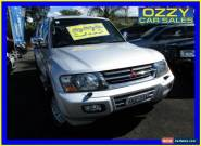2001 Mitsubishi Pajero NM Exceed LWB (4x4) Silver Automatic 5sp A Wagon for Sale