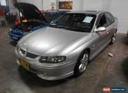 2002 Holden Commodore VX II SS Silver Automatic 4sp A Sedan for Sale