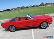 1966 Ford Mustang GT Convertible for Sale