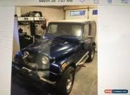 Jeep: CJ CJ7 Limited Edition for Sale