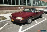 Classic 1989 Ford Mustang Coupe 2-Door Convertible for Sale