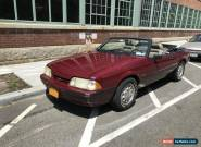 1989 Ford Mustang Coupe 2-Door Convertible for Sale