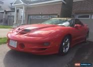 Pontiac: Trans Am WS6 for Sale