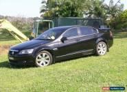 COMMODORE CALAIS V 07 black car black leather  for Sale