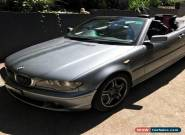 BMW 330ci Convertible MUST SELL  for Sale