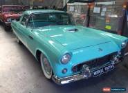 1955 FORD THUNDERBIRD CONVERTIBLE ONLY 2 OWNERS!! for Sale