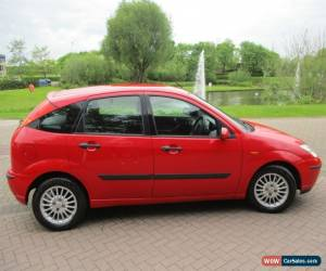 Classic Red Ford Focus ~ 1.6L Petrol ~ 2002 ~ 5 Door Hatchback ~ 93,000 ~ MOT July 2017 for Sale
