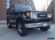 Toyota: Land Cruiser BJ70LV for Sale