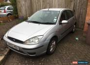 2003 Ford Focus 1.6 Zetec NO RESERVE!!! Px swap. for Sale