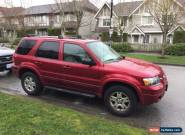 2007 Ford Escape Sport for Sale