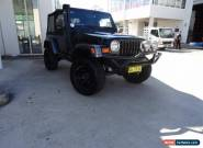 2004 Jeep Wrangler TJ Sport (4x4) Black Manual 5sp M Softtop for Sale