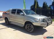 2009 Toyota Hilux KUN26R 09 Upgrade SR5 (4x4) Silver Manual 5sp M for Sale