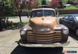 Classic 1952 Chevrolet Other Pickups pickup for Sale