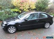 BMW 3 SERIES 316ti SE Compact 3dr, BLACK, Drives, MOT (Spares or Repair) for Sale