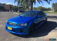2010 Holden Commodore VE SS Blue Automatic A Sedan for Sale