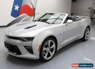 2017 Chevrolet Camaro SS Convertible 2-Door for Sale