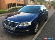 2009 VOLKSWAGEN PASSAT S TDI 140 DSG BLUE AUTOMATIC LONG MOT DIESEL for Sale