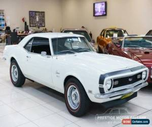 Classic 1968 Chevrolet Camaro White Pearl Manual 4sp M Coupe for Sale