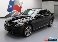 2015 Mercedes-Benz C-Class 4Matic Sedan 4-Door for Sale