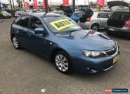 2008 Subaru Impreza MY08 R (AWD) Blue Automatic 4sp A Hatchback for Sale