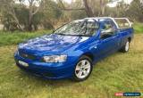 Classic 2006 Ford Falcon BF XL SE Blue Automatic 4sp A Utility for Sale