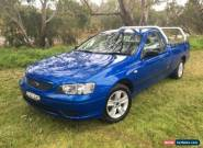 2006 Ford Falcon BF XL SE Blue Automatic 4sp A Utility for Sale