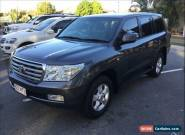2009 Toyota Landcruiser VDJ200R 09 Upgrade VX (4x4) Graphite Grey Automatic 6sp for Sale