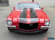 1971 CHEVROLET CAMARO SS 396V8 4 SPEED MAN P/STEERING DISC BRAKES RALLY WHEELS for Sale