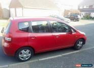 2003 HONDA JAZZ SE RED for Sale