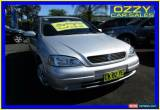 Classic 2002 Holden Astra TS CD Silver Automatic 4sp A Sedan for Sale