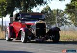 Classic 1931 Ford Roadster Pickup Hot Rod for Sale