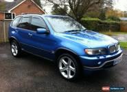 BMW E53 4.6is X5 Estoril Blue for Sale