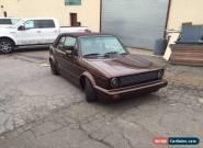 1993 Volkswagen Cabrio for Sale