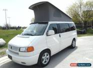 2002 Volkswagen EUROVAN WESTFALIA WEEKENDER WEEKENDER for Sale