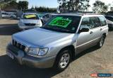 Classic 2001 Subaru Forester GX Silver Manual M Wagon for Sale