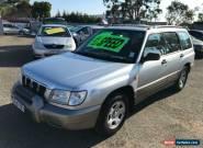 2001 Subaru Forester GX Silver Manual M Wagon for Sale