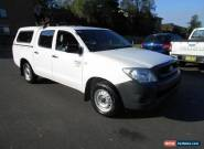 2009 Toyota Hilux TGN16R 08 Upgrade Workmate White Automatic 4sp A for Sale