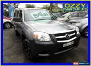 2008 Mazda BT-50 08 Upgrade B3000 DX (4x4) Grey Manual 5sp M Dual Cab Pick-up for Sale