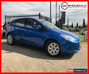 Classic 2013 Ford Focus LW MKII Ambiente Hatchback 5dr PwrShift 6sp, 1.6i Blue A for Sale