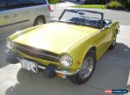 Triumph: TR-6 chrome for Sale